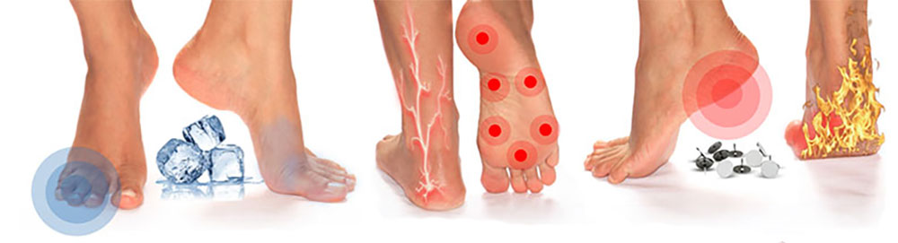 Suffering from pain in your feet?  The ReBuilder for your nerve pain is the answer!