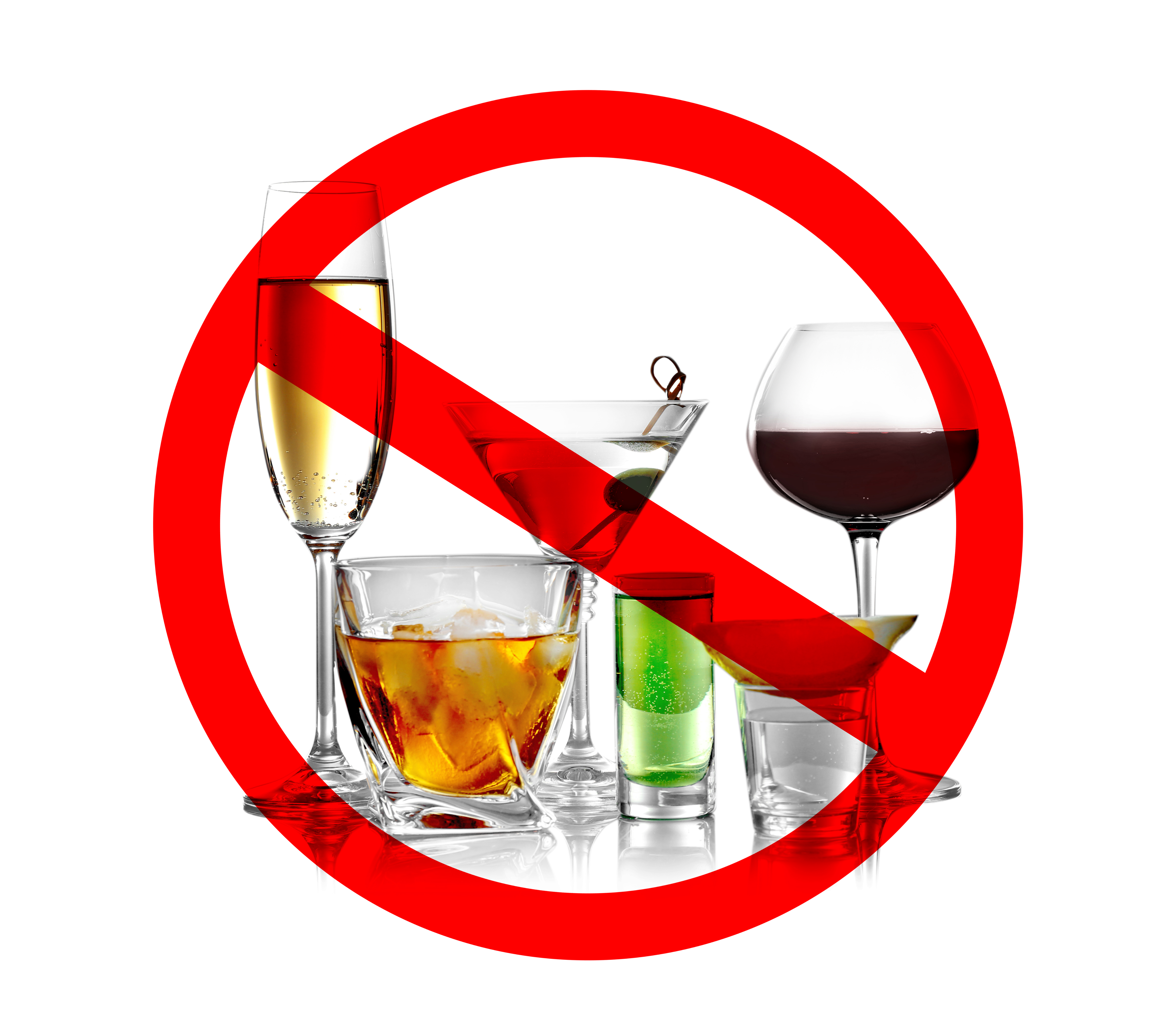 Foods to avoid: Alcohol