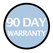 90-day warranty for ReBuilder accessories